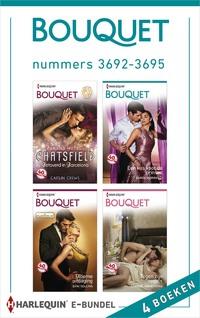 Bouquet e-bundel nummers 3692-3695 (4-in-1)-Caitlin Crews, Carole Marinelli, Dani Collins, Lindsay Armstrong-eBook