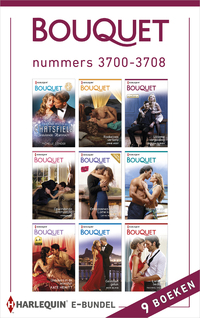 Bouquet e-bundel nummers 3700-3708 (9-in-1)-Annie West, Cathy Williams, Elizabeth Power, Kate Hewitt, Maggie Cox, Maya Blake, Michelle Conder, Rachael Thomas, Victoria Parker-eBook
