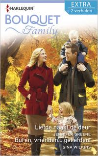 Liefde naast de deur ; Buren, vrienden... geliefden! (2-in-1)-Gina Wilkins, Jennifer Greene-eBook
