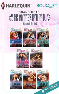 Grand Hotel Chatsfield deel 9-16 (8-in-1)-Abby Green, Caitlin Crews, Carole Marinelli, Kate Hewitt, Maisey Yates, Melanie Milburne, Michelle Conder, Susanna Carr-eBook