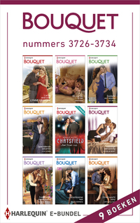 Bouquet e-bundel nummers 3726-3734 (9-in-1)-Amy Andrews, Annie West, Cathy Williams, Fiona Harper, Joss Wood, Julia James, Lynne Graham, Melanie Milburne, Michelle Smart, Rachael Thomas, Susan Stepens, Tara Pammi-eBook