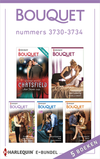 Bouquet e-bundel nummers 3730-3734 (5-in-1)-Amy Andrews, Cathy Williams, Fiona Harper, Joss Wood, Melanie Milburne, Michelle Smart, Rachael Thomas, Susan Stepens, Tara Pammi-eBook