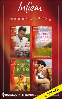 Intiem e-bundel nummers 2216-2219 (4-in-1)-Jules Bennett, Michelle Celmer, Sherryl Woods, Susan Mallery-eBook