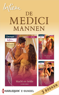 Intiem Bundel : De Medici mannen (3-in-1)-Leanne Banks-eBook
