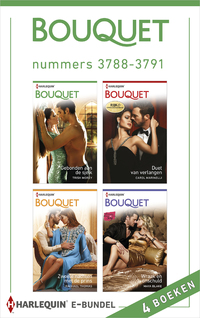 Bouquet e-bundel nummers 3788-3791 (4-in-1)-Carole Marinelli, Maya Blake, Rachael Thomas, Trish Morey-eBook