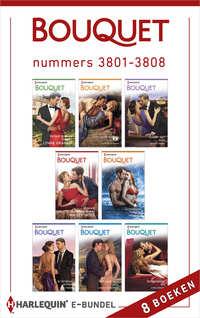 Bouquet e-bundel nummers 3801-3808 (8-in-1)-Chantelle Shaw, Lindsay Armstrong, Lynne Graham, Sara Craven-eBook