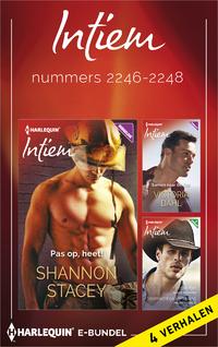 Intiem e-bundel nummers 2246-2248 : Pas op, heet! ; Samen naar de top ; Frisse flirt ; Stormachtige verleiding (4-in-1)-Janice Maynard, Maureen Child, Shannon Stacey, Victoria Dahl-eBook