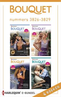 Bouquet e-bundel nummers 3826 - 3829 (4-in-1)-Carol Marinelli, Jennifer Hayward, Michelle Smart, Rachael Thomas-eBook