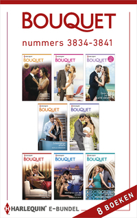Bouquet e-bundel nummers 3834 - 3841 (8-in-1)-Annie West, Caitlin Crews, Chantelle Shaw, Kate Hewitt, Maisey Yates, Maya Blake, Natalie Anderson, Rachael Thomas-eBook