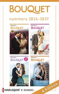 Bouquet e-bundel nummers 3834 - 3837 (4-in-1)-Caitlin Crews, Kate Hewitt, Maya Blake, Natalie Anderson-eBook