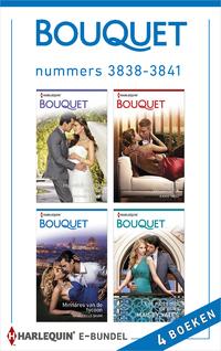 Bouquet e-bundel nummers 3838 - 3841 (4-in-1)-Annie West, Chantelle Shaw, Maisey Yates, Rachael Thomas-eBook