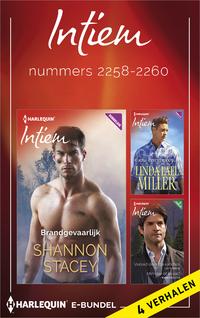 Intiem e-bundel nummers 2258-2260 : Brandgevaarlijk ; Een een cowboy... ; Verleid door de rancher ; Minnaar of rivaal? (4-in-1)-Cat Schield, Karen Booth, Linda Lael Miller, Shannon Stacey-eBook