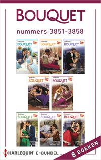 Bouquet e-bundel nummers 3851 - 3858 (8-in-1)-Abby Green, Annie West, Jane Porter, Julia James, Kate Hewitt, Kim Lawrence, Melanie Milburne, Tara Pammi-eBook