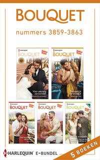 Bouquet e-bundel nummers 3859 - 3863 (5-in-1)-Andie Brock, Anne Mather, Heidi Rice, Jennifer Hayward, Sharon Kendrick-eBook