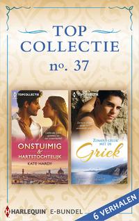 Topcollectie 37 : Onstuimig & hartstochtelijk ; Zomers geluk met de Griek (6-in-1)-Chantelle Shaw, Julia James, Kate Hardy, Kate Hewitt-eBook