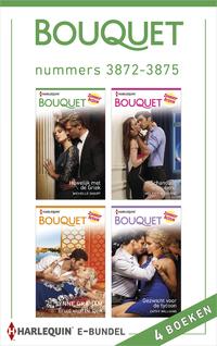 Bouquet e-bundel nummers 3872 - 3875 : Huwelijk met de Griek ; Schandalig onthullend ; Bruid voor de sjeik ; Gezwicht voor de tycoon (4-in-1)-Cathy Williams, Lynne Graham, Melanie Milburne, Michelle Smart-eBook