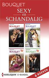 Sexy en schandalig (4-in-1)-Abby Green, Michelle Smart, Rachael Thomas, Tara Pammi-eBook