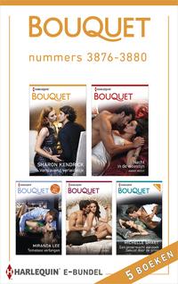 Bouquet e-bundel nummers 3876 - 3880 (5-in-1)-Annie West, Caitlin Crews, Miranda Lee, Sharon Kendrick-eBook