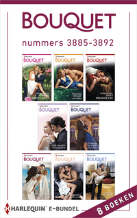 Bouquet e-bundel nummers 3885 - 3892 (8-in-1)-Angela Bissell, Jane Porter, Jennifer Hayward, Lynne Graham, Maisey Yates, Melanie Milburne, Michelle Smart, Miranda Lee-eBook