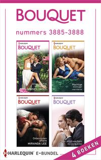 Bouquet e-bundel nummers 3885 - 3888 : Onvergetelijk verleidelijk ; Machtige minnaar ; Onbezonnen affaire ; Voor altijd van hem (4-in-1)-Jane Porter, Maisey Yates, Melanie Milburne, Miranda Lee-eBook
