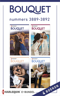 Bouquet e-bundel nummers 3889 - 3892 (4-in-1)-Angela Bissell, Jennifer Hayward, Lynne Graham, Michelle Smart-eBook