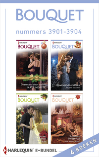 Bouquet e-bundel nummers 3901 - 3904-Caitlin Crews, Fiona Hood-Stewart, Kate Hewitt, Melanie Milburne-eBook