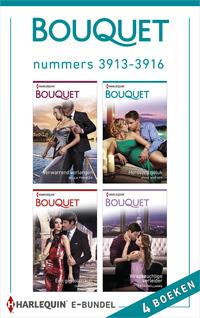 Bouquet e-bundel nummers 3913 - 3916-Anne Mather, Bella Frances, Cathy Williams, Tara Pammi-eBook