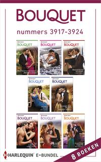 Bouquet e-bundel nummers 3917 - 3924-Bella Frances, Clare Connelly, Jennie Lucas, Kim Lawrence, Maisey Yates, Maya Blake, Melanie Milburne, Natalie Anderson-eBook