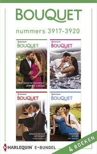 Bouquet e-bundel nummers 3917 - 3920 (4-in-1)-Clare Connelly, Jennie Lucas, Kim Lawrence, Melanie Milburne-eBook