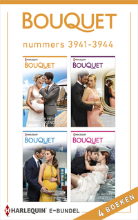 Bouquet e-bundel nummers 3941 - 3944-Caitlin Crews, Jennifer Hayward, Melanie Milburne, Sharon Kendrick-eBook