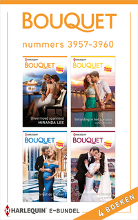 Bouquet e-bundel nummers 3957 - 3960-Cathy Williams, Jane Porter, Julia James, Miranda Lee-eBook