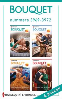 Bouquet e-bundel nummers 3969 - 3972-Annie West, Heidi Rice, Sharon Kendrick, Tara Pammi-eBook