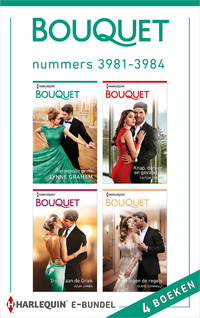 Bouquet e-bundel nummers 3981 - 3984-Caitlin Crews, Clare Connelly, Julia James, Lynne Graham-eBook