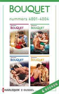 Bouquet e-bundel nummers 4001 - 4004-Abby Green, Caitlin Crews, Carol Marinelli, Melanie Milburne-eBook