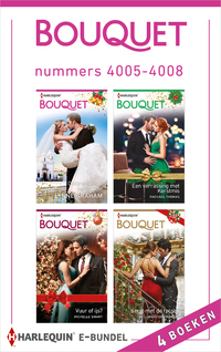 Bouquet e-bundel nummers 4005 - 4008-Jennifer Hayward, Lynne Graham, Michelle Smart, Rachael Thomas-eBook