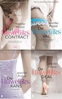 Getrouwd met een miljonair : Getrouwd met een miljonair-serie (4-in-1)-Jennifer Probst-eBook