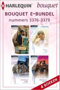 Bouquet e-bundel nummers 3376 - 3379 (4-in-1)-Carole Marinelli, Jackie Braun, Kate Walker, Sharon Kendrick-eBook