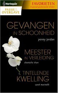Gevangen in schoonheid/ Meester in verleiding/ Tintelende kwelling-Carole Marinelli, Chantelle Shaw, Penny Jordan-eBook