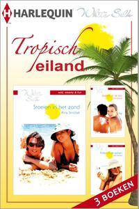 Tropisch eiland -eBundel met de complete miniserie - Een uitgave van Harlequin White Silk - sexy chicklit-Kira Sinclair-eBook
