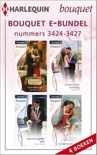 Bouquet e-bundel nummers 3424-3427 (4-in-1)-Carole Marinelli, Janette Kenny, Melanie Milburne, Michelle Douglas-eBook