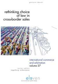 Rethinking Choice of Law in Cross-Border Sales-Gustavo Moser-eBook