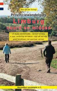 Provinciewandelgids Limburg noord en midden-Bart van der Schagt