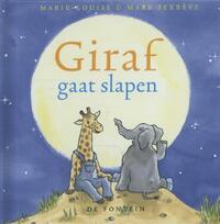 Giraf gaat slapen-Marie-Louise Sekrève, Mark Sekrève
