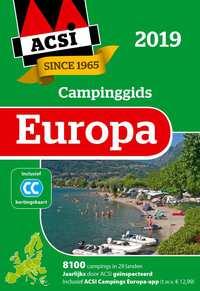 ACSI Campinggids Europa 2019 + app set 2 delen-Acsi